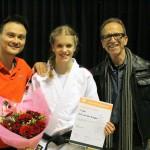 Anne van der Brugge Shodan Jiu-Jitsu Promotie JBN 19-4-2014