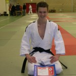 Marco van der Lans, 1e Dan Judo