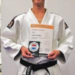 Narendra van Raaij, 1e Dan Jiu-Jitsu