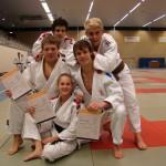 Wesley Hendriks 2e Dan Judo, Thomas van Eijk & Raéfan Passage, 1e Dan Judo