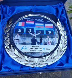 Tom Molenaar Sportman 2018 prijs